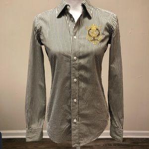 Ralph Lauren Sport Striped women's button down